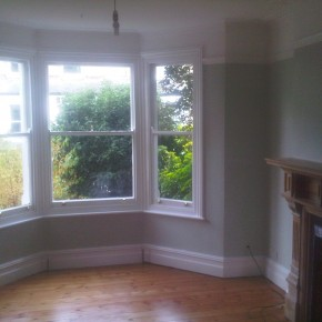 bay window painted