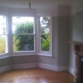 bay window painted