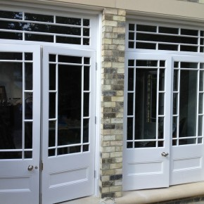 patio doors finished