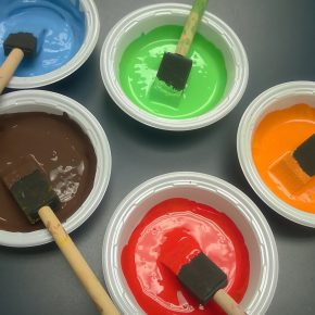 spray painting your home
