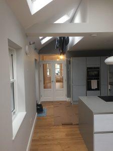 full refurb open kitchen