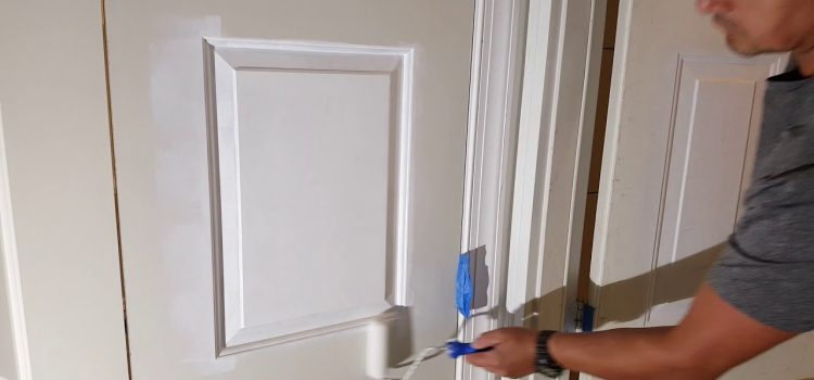 painting internal doors