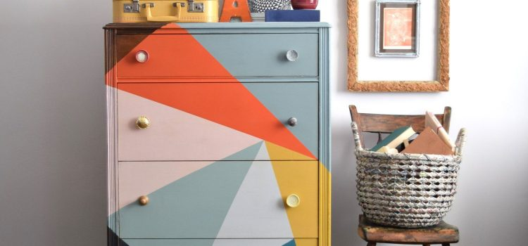 creative hand painted furniture