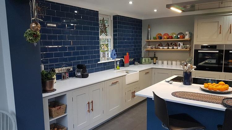 Hand Painted Kitchen Harvey Jones 6
