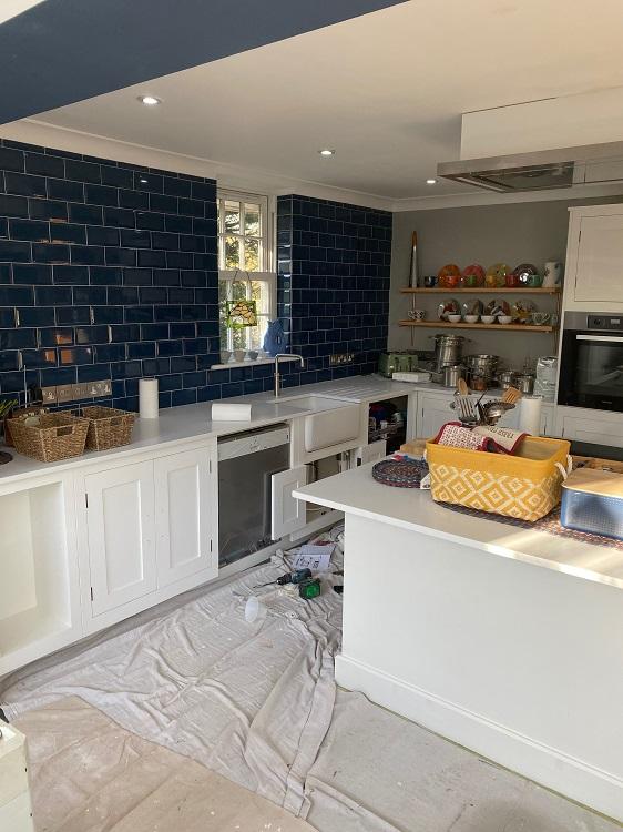 Hand Painted Kitchen Harvey Jones 9